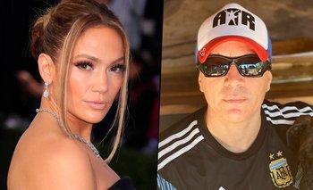 "El divertido piropo de Pablo Lescano a Jennifer Lopez: ""No sé, pensalo"" | Pablo lescano"
