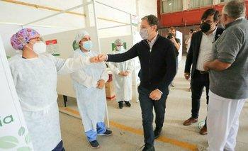 Gray y Kreplak inauguraron un centro de testeo de COVID-19 | Coronavirus en argentina