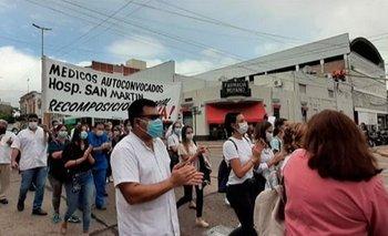 Entre Ríos: médicos y enfermeros reclaman mejoras salariales    Segunda ola de coronavirus