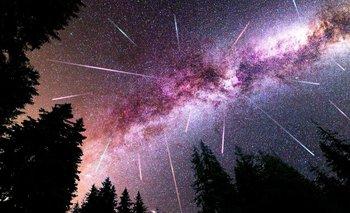 Cuándo ver la impactante lluvia de estrellas Líridas en Argentina   Espacio exterior