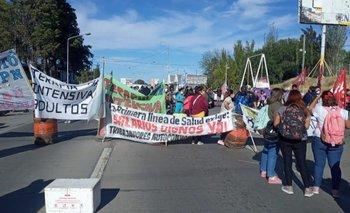 Vaca Muerta: sigue el reclamo de trabajadores de salud en Neuquén | Vaca muerta
