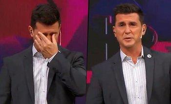 Hernán Castillo volvió a la televisión y lloró recordando a su padre | Tnt sports