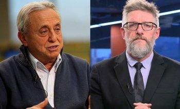 """Pedro Cahn enmudeció a Luis Novaresio en vivo: """"Nunca dije eso""""   Televisión"""
