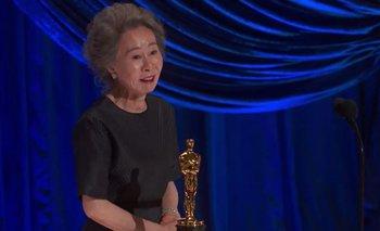 Un Oscar 2021 histórico: Youn Yuh-jung se llevó el premio a la mejor Actriz de Reparto | Oscars 2021