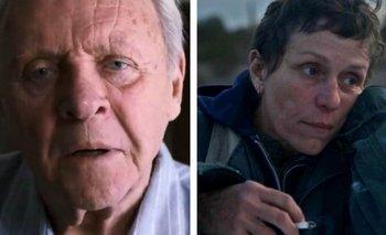 Oscars: Frances McDormand y Anthony Hopkins, Mejor Actriz y Actor | Premios oscar