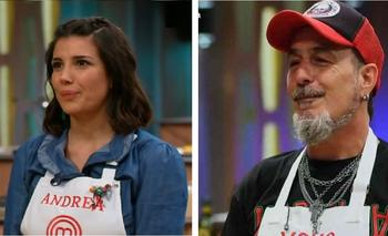Andrea Rincón y el Mono de Kapanga se desafiaron en MasterChef | Andrea rincón