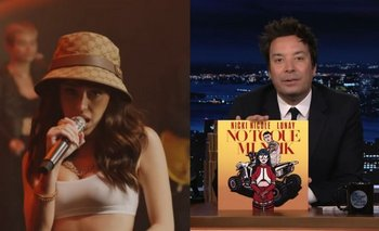 Así fue el show de Nicki Nicole en el programa de Jimmy Fallon | Nicki nicole