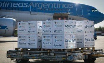 Aerolíneas Argentinas confirmó un nuevo vuelo por vacunas Sputnik V   Segunda ola de coronavirus