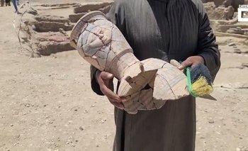 Video: un explorador halló la antigua ciudad perdida de Luxor | Insólito
