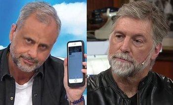 Jorge Rial puso en vivo un audio que le mandó Horacio Cabak | Televisión