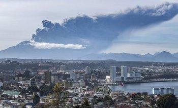 Tensión en Patagonia por la tercera erupción del Calbuco | Volcán calbuco
