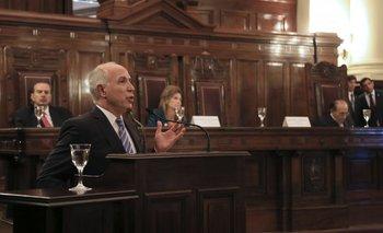 Con Fayt presente, la Corte ratificó la validez de la elección de Lorenzetti | Ricardo lorenzetti