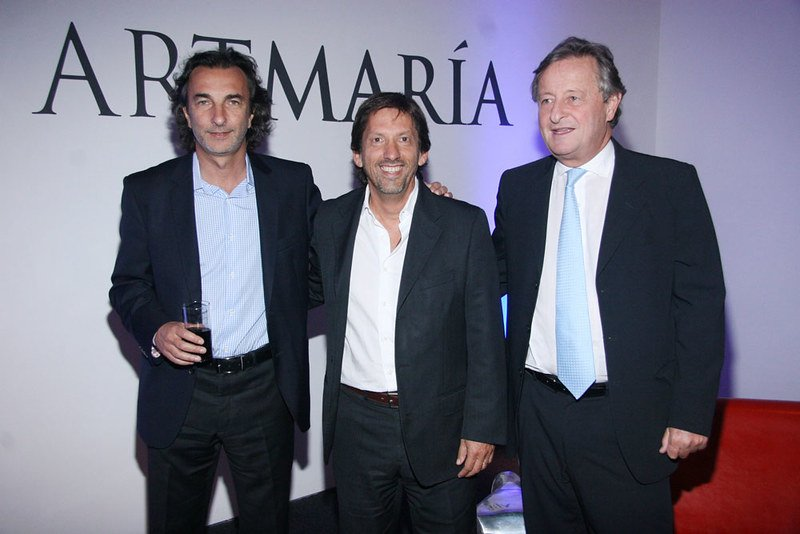 Angelo Calcaterra, Martín Rodriguez Etcheto y Cristiano Ratazzi