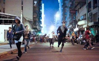 A cuatro años de la represión en la Sala Alberdi: así están los baleados con plomo   Policía metropolitana