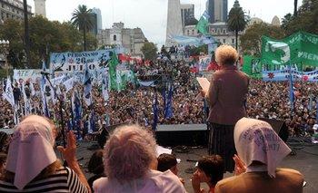 Hoy Argentina grita nunca más | Derechos humanos