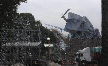 Aprobaron trasladar la estatua de Juana Azurduy y denuncian un negociado PRO | Monumento juana de azurduy