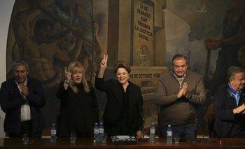 Con Dilma Rousseff de invitada, la CGT rechazó la reforma laboral | Día del trabajador