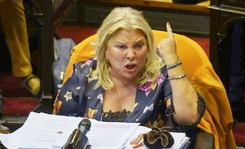 Carrió denunció que buscan jubilar a la jueza Servini | Elisa carrió