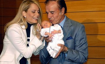 El hijo menor de Menem denunció que Zulemita no lo deja ver a su padre   Cecilia bolocco