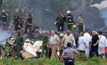 Primeras imágenes del accidente aéreo de La Habana | Accidente aéreo