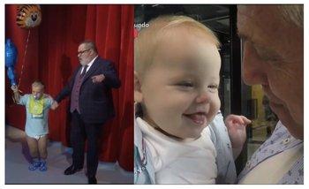 Repudiable: Lanata se burló del hijo de Marley con un enano vestido de bebé | Medios