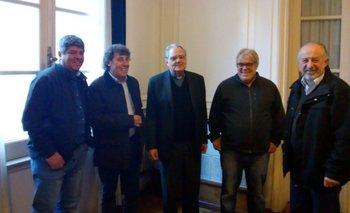 La Iglesia se reunió con Moyano, Yasky y Micheli en la previa de la marcha del 25 | Cta