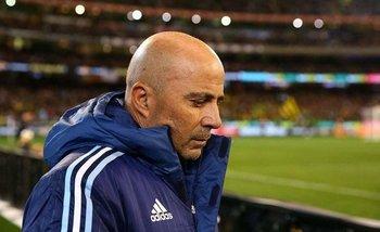 Marcos Acuña se lastimó en el entrenamiento abierto | Selección argentina