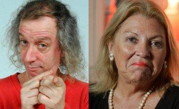 """Capusotto definió a Carrió como """"el tío borracho de la familia""""   Fmi"""