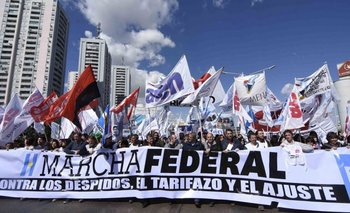 Marcha Federal: terminará el viernes frente al Congreso con un importante acto | Marcha federal