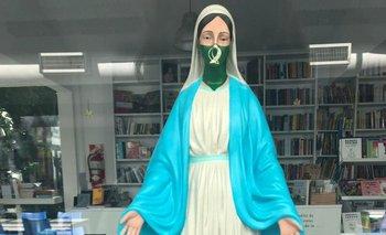 El Gobierno censuró definitivamente la obra de arte de una virgen abortera | Censura