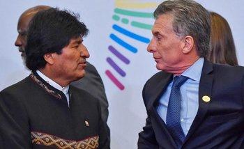 Centenario de Evita: El emotivo saludo de Evo Morales y el silencio de Macri | Evo morales