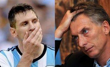 ¿Macri mufa? El tweet del presidente sobre Messi antes de la eliminación del Barcelona de la Champions | Mauricio macri