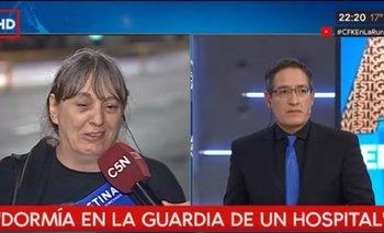 """El relato de una mujer que vivía en la calle y fue a ver a Cristina Kirchner entre lágrimas: """"Nos volvieron a parir""""   Cristina kirchner"""