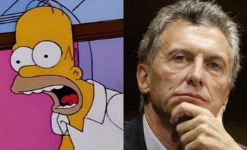 Pasajeros del tren Roca realizaron una escena de 'Los Simpsons' con un delirante mensaje a Macri | Viral