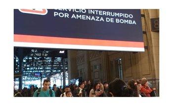 Amenaza de bomba en Constitución y Retiro: afecta a las líneas Mitre, Belgrano y Roca | Trenes