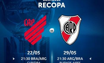 Paro General el 29 de mayo: ¿Corre riesgo la final de la Recopa Sudamericana entre River y Atlético Paranaense?   River