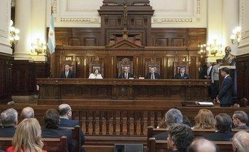 Con pases de factura e internas al rojo vivo, sigue la tensión entre el Gobierno y la Corte Suprema | Corte suprema de justicia