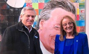 Primera visita de Alberto Fernández como candidato: visitó el mausoleo de Néstor Kirchner en Santa Cruz   Alberto fernández candidato