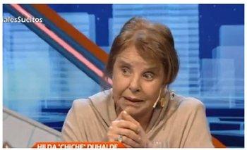"Chiche Duhalde: ""La fórmula Fernández-Fernández es un disfraz pero Alberto no es un títere""   Hilda chiche duhalde"