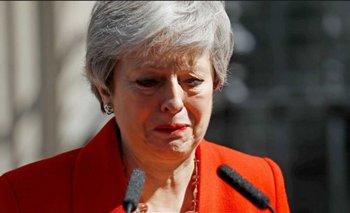 Reino Unido: entre lágrimas, Theresa May renunció como Primera Ministra tras el fracaso del Brexit | Reino unido