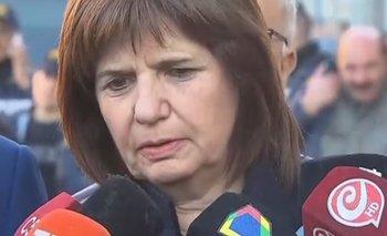 Crimen de San Miguel del Monte: el Gobierno se despega de su propio discurso pero dice que el caso no es igual al de Chocobar   Patricia bullrich