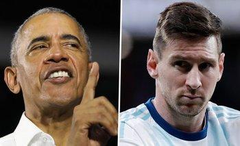 Obama explicó por qué Messi no pudo salir campeón con la Selección | Barack obama