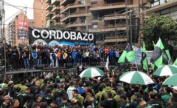 Cordobazo: el quinto paro general se hizo sentir en Córdoba con un masivo acto | Paro general