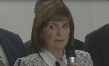 El garrafal error de Bullrich en la conferencia de prensa por el médico acusado de pedofilia  | Patricia bullrich