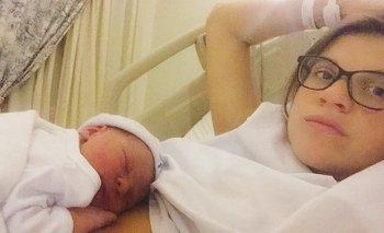 Delfina Rossi fue mamá de Noah | Delfina rossi