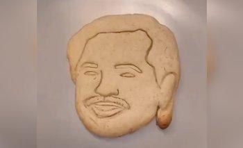 Las galletitas con la cara de Alberto que son furor en redes | En redes sociales