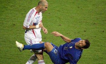 Con la camiseta de Boca, Materazzi contó qué le dijo a Zidane | Fútbol