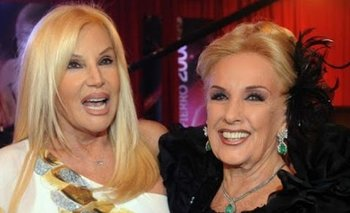 Así despidieron Mirtha y Susana a Goldie | Goldie legrand