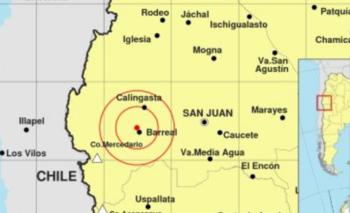 Fuerte sismo en San Juan y otras provincias argentinas | Fenómenos naturales