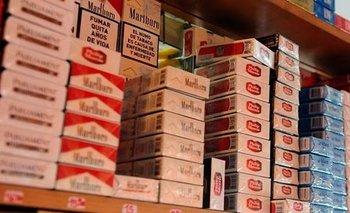 Aumentan hasta un 7% el precio de los cigarrillos    Cigarrillos